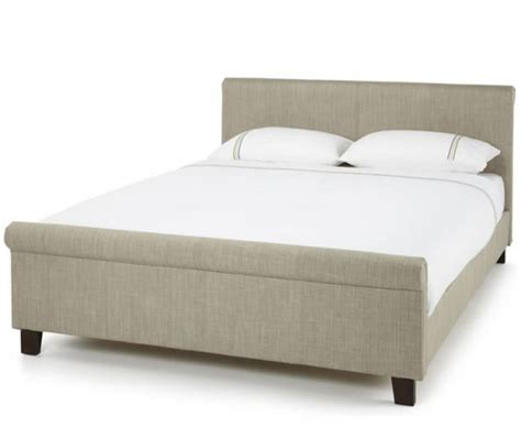 Henri Small Double 4ft Linen Upholstered Bed  Just 4ft Beds