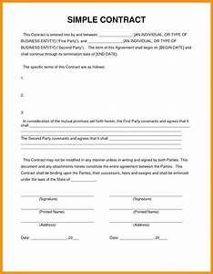 generous simple consulting agreement template pictures With consultant contract template free download