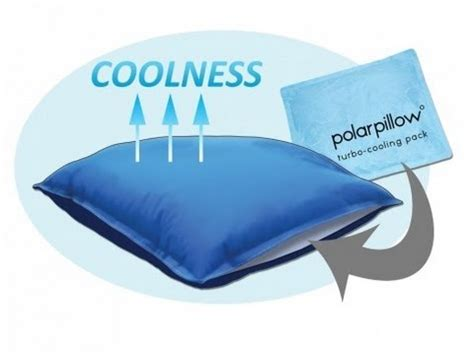 electric cold pillow polar pillow pillow that stays cool for flashes