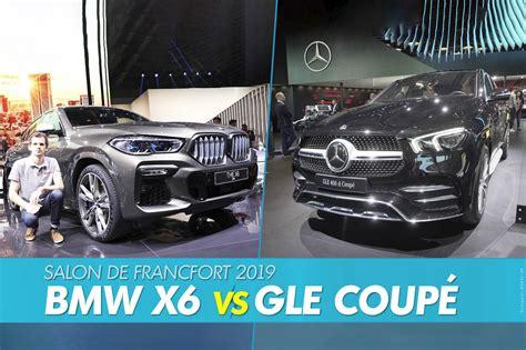 2018 mercedes benz gle amg 43 coupe vs 2018 bmw x6 sdrive35i. BMW X6 (2019) vs Mercedes GLE Coupé (2020) : le match ...