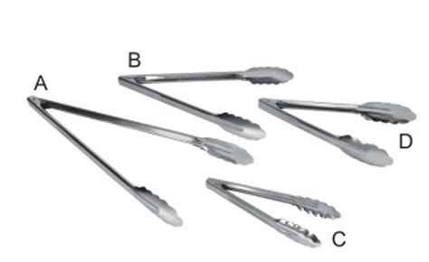 Utility Tongs,stainless Steel Utility Tongs,sandwich Tong