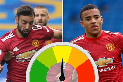 Man Utd player ratings: Rashford and Fernandes on fire but ...