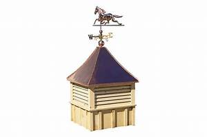horse barn options copper top cupola With copper cupola tops