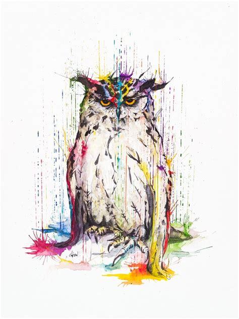 philipp grein creates stunning animal watercolors