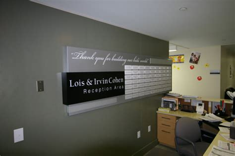 Donor Recognition Signs | Interior Signage | L&H Sign