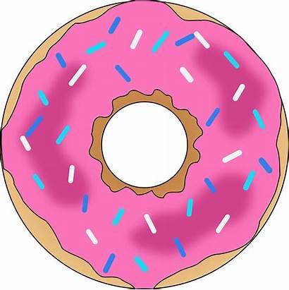 Donut Clipart Sprinkles Economie Frosting Donuts Clip