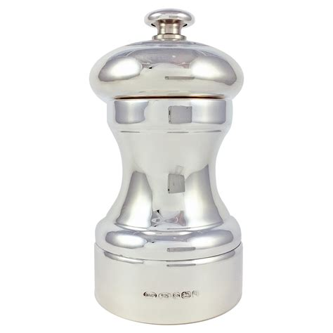 Peugeot Salt And Pepper by Hallmarked Sterling Silver Salt Pepper Mill With Peugeot