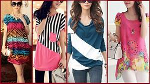 latest 10 stylish tops designs with jeans for girls ...