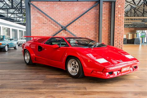 how to work on cars 1990 lamborghini countach seat position control 1990 lamborghini countach 25th anniv richmonds classic and prestige cars storage and