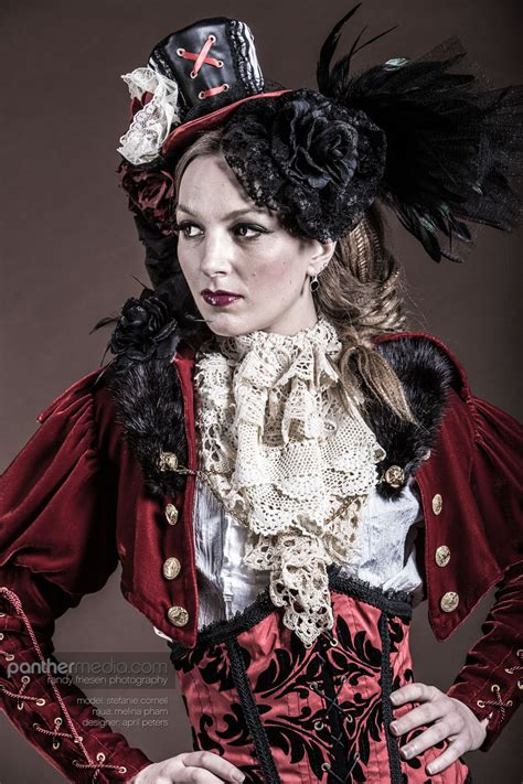 steam punk fashion panthermedia