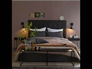 54 photos de chambre taupe youtube With m6 deco chambre adulte