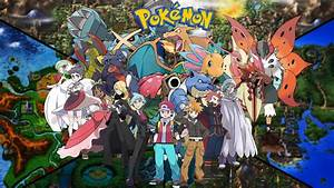 Champion Pokemon trainers (Updated art) by saintnaruto on ...