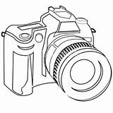 Dslr Slr Digital Camera Sketch Clip Drawing Coloring Line Vector Cameras Clipart Illustration Cost Clipartbest Offers Low Costs Greatest India sketch template