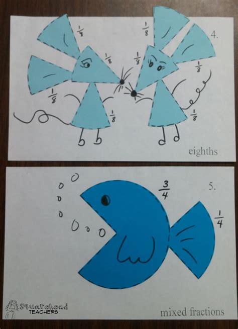 fraction pictures pictures  squarehead teachers