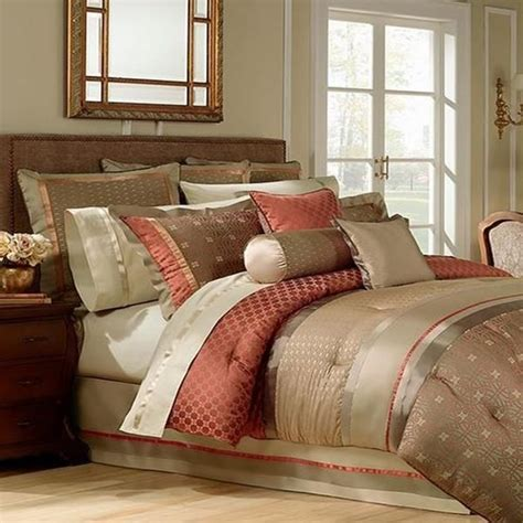 comforter bedding waterford rust bed bogden king colored queen bedroom comforters google decorative sets decor taupe pillow bath sham macy