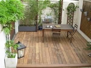 Lame Terrasse Bois Pas Cher : terrasse en bois pas cher ~ Dailycaller-alerts.com Idées de Décoration