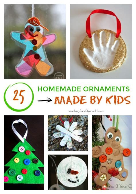 christmas crafts for 3 year olds 25 ornaments for keepsakes tree and ornament