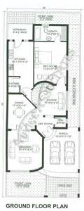bahria enclave 10 marla 4 bed house design bds 329