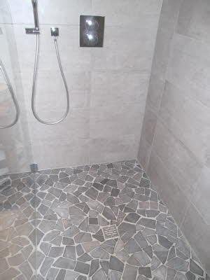 Naturstein Mosaik Dusche by Badezimmer Kast Fliesen