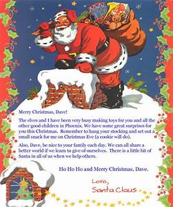 santa letter largejpg With personal letter from santa claus