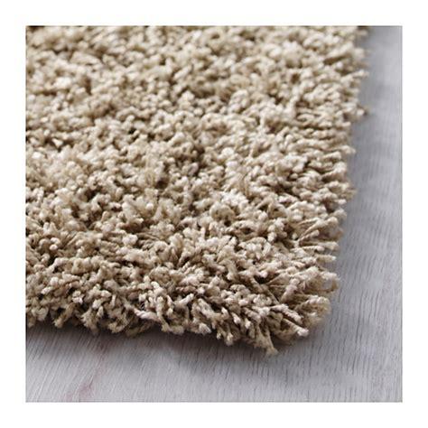 tapis poil beige hen rug high pile beige 133x195 cm ikea