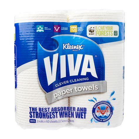 kleenex viva paper towels   redmart