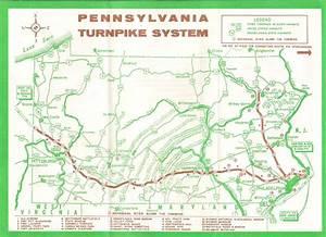 Pennsylvania Map Turnpike