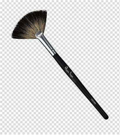Brush Makeup Clipart Fan Powder Paintbrush Pinceau