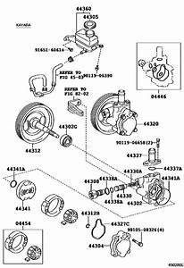 Vane Pump  U0026 Reservoir  Power Steering  For 1996