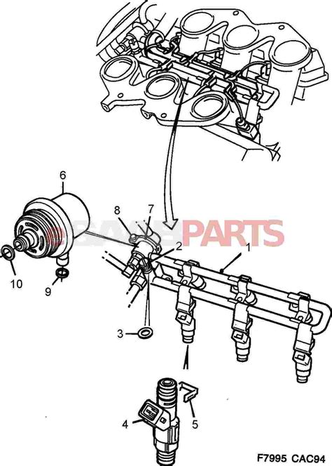 Saab Fuel Diagram by 9118850 Saab Fuel Pressure Regulator Saab Parts From