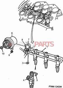 9118850  Saab Fuel Pressure Regulator