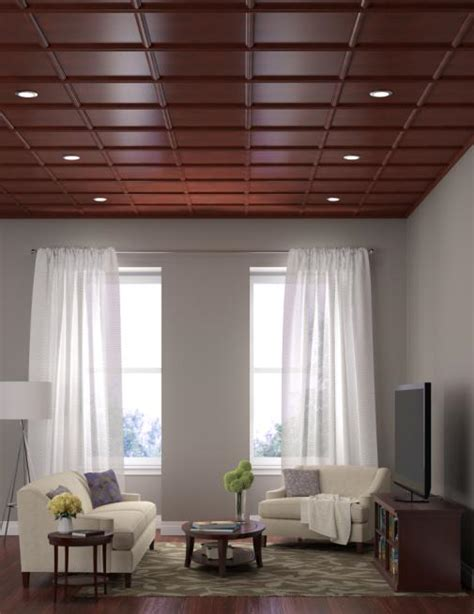 direct mount wood based ceiling system