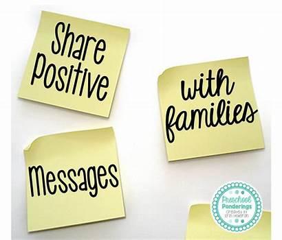 Positive Messages Preschool Funny Stories Families Activities