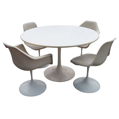 bench style table and chairs saarinen style tulip dining set table and chairs for sale