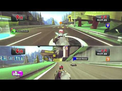 xbox 2 player games f1 race xbox 360 gameplay 2 player