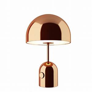 Tom Dixon Lamp : bell table lamp copper by tom dixon dimensiva ~ Markanthonyermac.com Haus und Dekorationen