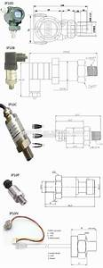 0-5v Hydraulic Pressure Sensor Caterpillar Oil Pressure Sensor 1 Wire Pressure Sensor