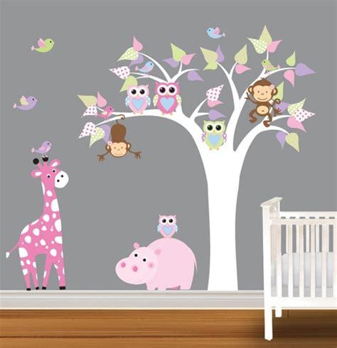 cadre deco chambre bebe fille decoration chambre bebe fille hibou