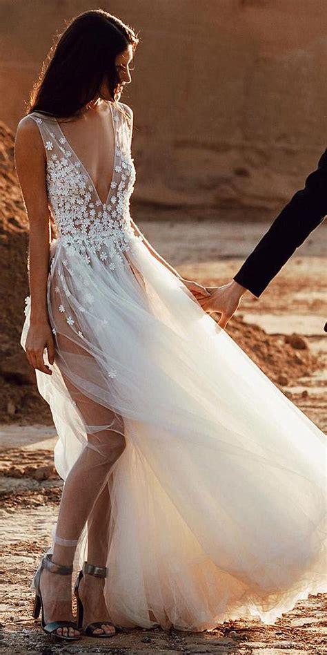 unforgettable beach destination wedding dresses