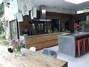 Küche Beton Holz : 19 besten k che beton und holz bilder auf pinterest k che beton rund ums haus und runde ~ Markanthonyermac.com Haus und Dekorationen