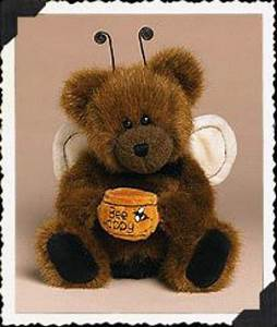 "Boyds Bears ""U Bee Happy"" #903055- 8"" Honey Bee Bear- NWT ..."