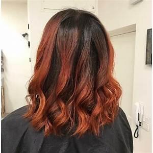 Ombré Hair Cuivré : ombr hair rouge cuivre ~ Melissatoandfro.com Idées de Décoration