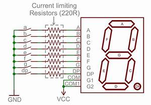 7 Segment Wiring Diagram