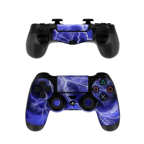 sony ps controller skin apocalypse blue  gaming
