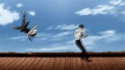 Fight Gangsta Anime Gifs Doug Sword Manga