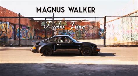 magnus walker house magnus walker porsche 911 turbo 930 turbo video
