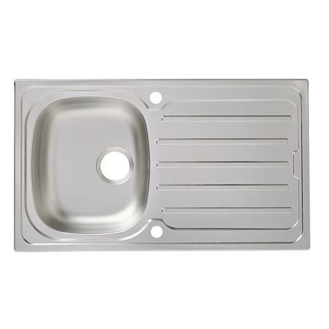 Cooke & Lewis Nakaya 1 bowl Linen Finish Stainless steel