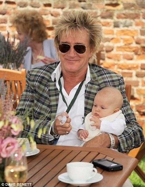 Rod Stewart with his son Aiden | PEOPLE | Pinterest | Rod ...