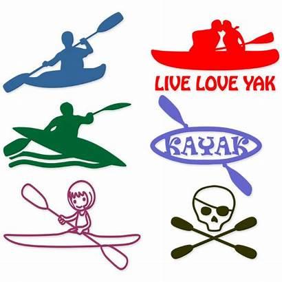 Kayak Svg Boat Designs Kayaking Cuttable Cut