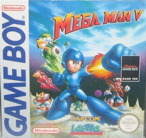 Mega Man V Box Shot For Game Boy Gamefaqs